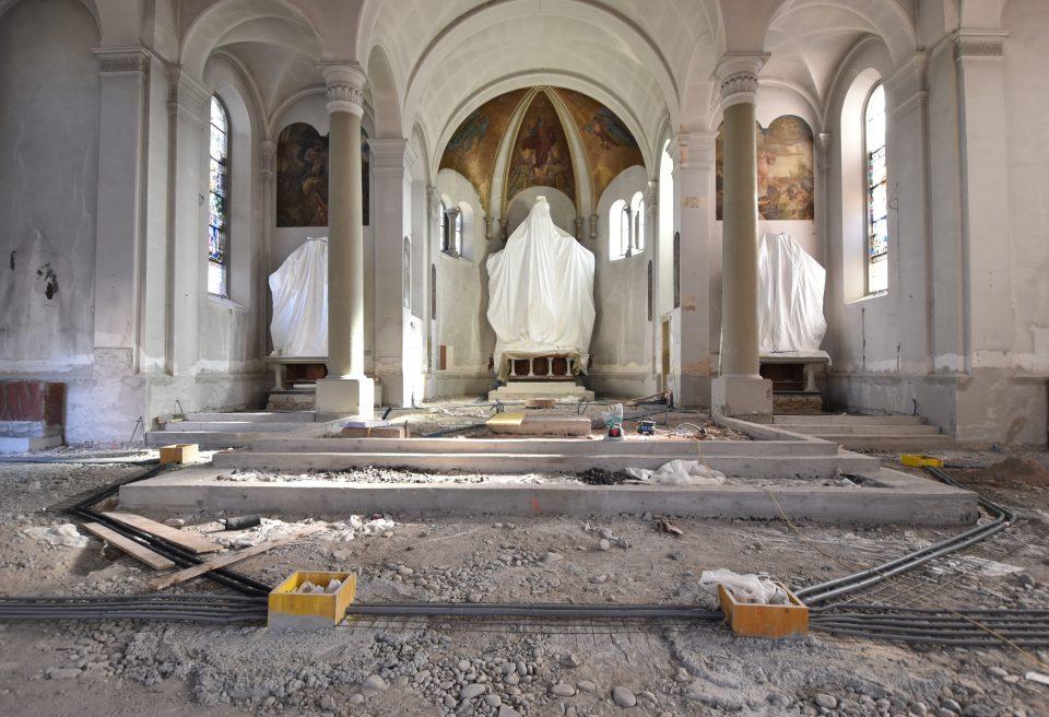 Zügiger Baufortschritt beim Haus St. Georg